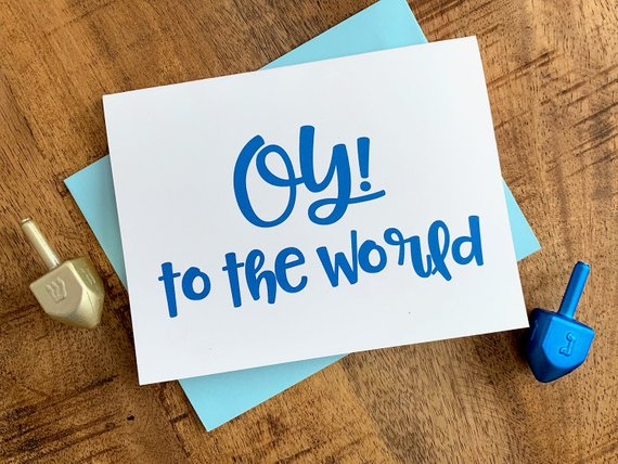Oy! To the World Holiday Card