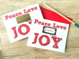Peace, Love and a Bundle of Joy Scratch Off for Sister