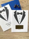 Usher Tuxedo Scratch Off Proposal