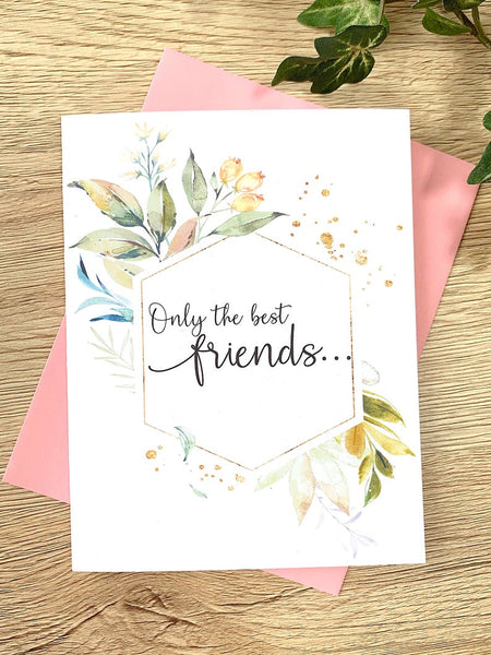 Foliage Only the Best Friends Get Promoted to Uncle Card