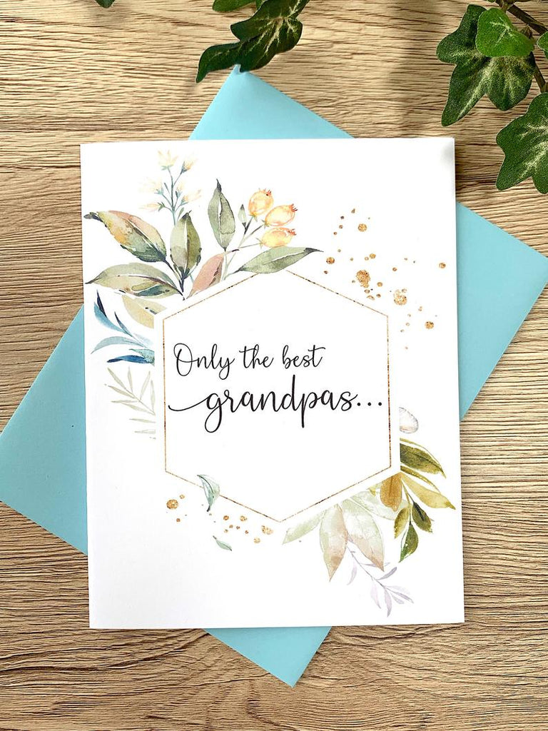 Only the Best Grandpas Get Promoted to Great Grandpa Card