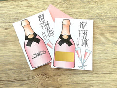 Pop Fizz Clink Maid of Honor Scratch Off Proposal