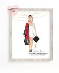 2021 Graduation Gift Custom Wall Art for Her