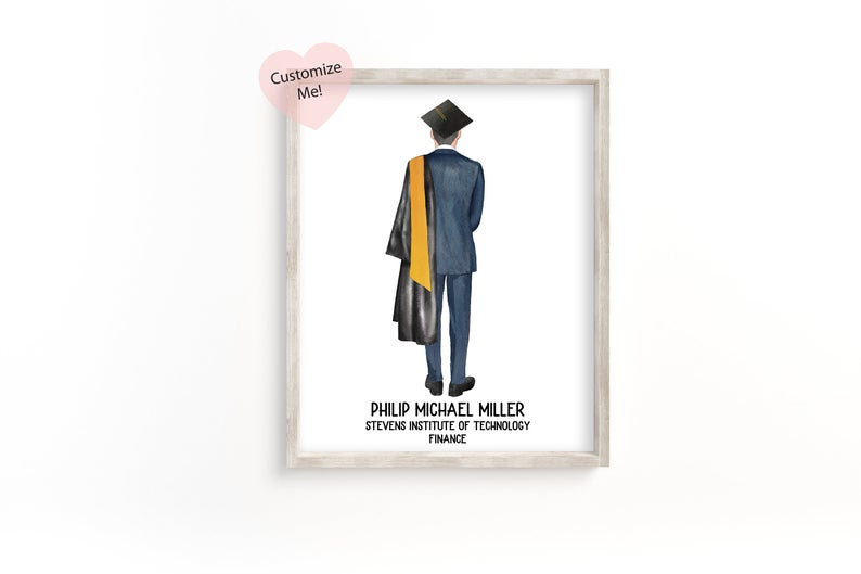 2021 funny senior graduation card quarantine