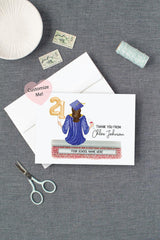 Custom Graduation Thank You Cards