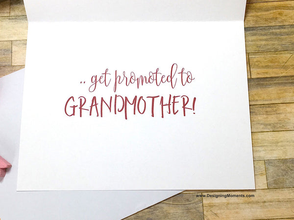 Only the Best Mothers Get Promoted to Grandmother