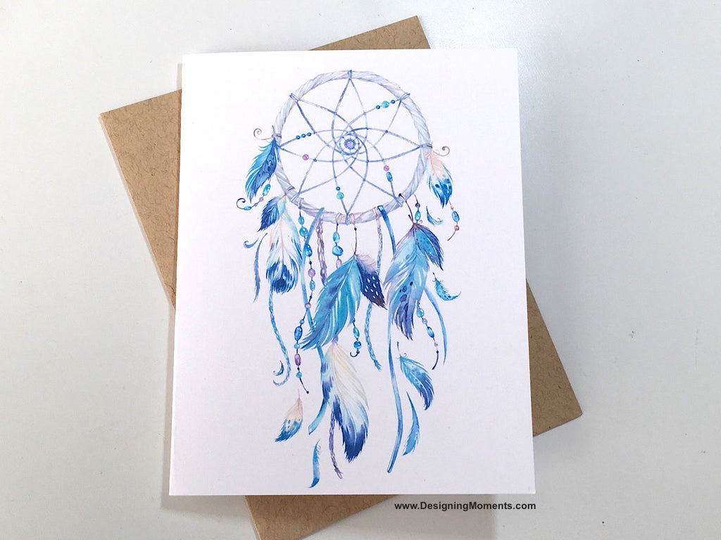 Boho Dreamcatcher Note Cards