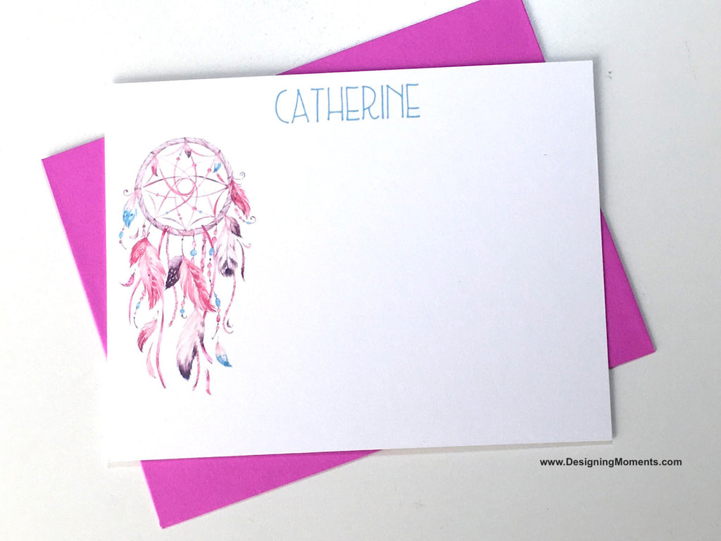 Dreamcatcher Personalized Stationery