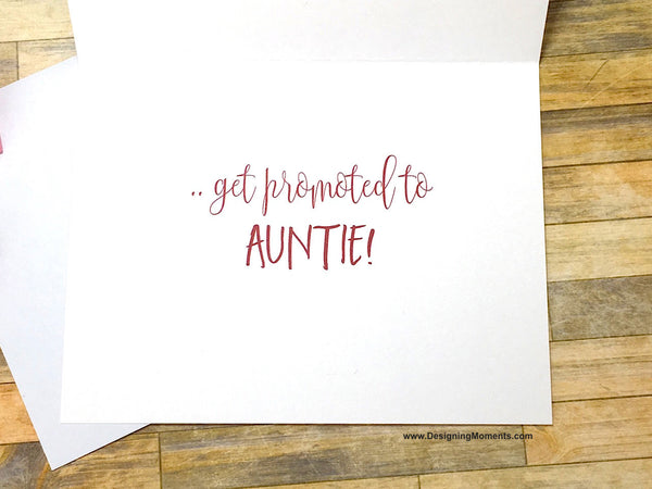 Only the Best Friends Get Promoted to Auntie