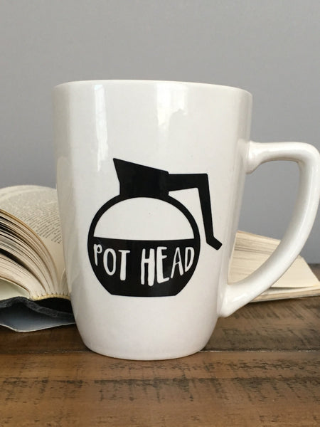 Pot Head Funny Coffee Mug