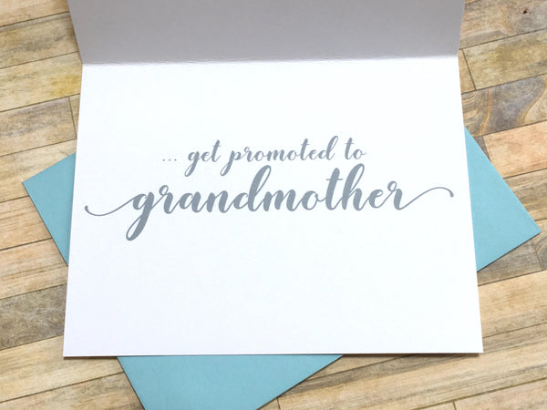 The Best Mothers Get Promoted to Grandmother
