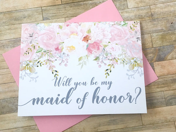 Will You Be My Maid of Honor?