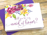 Will You Be My Matron of Honor?