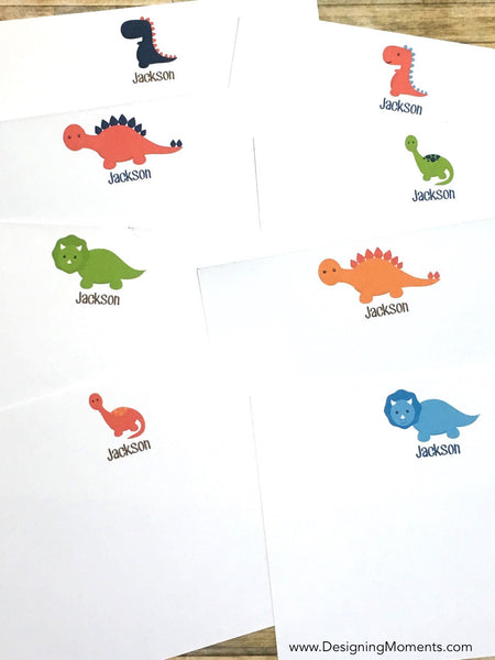 Dinosaur Personalized Stationery Set