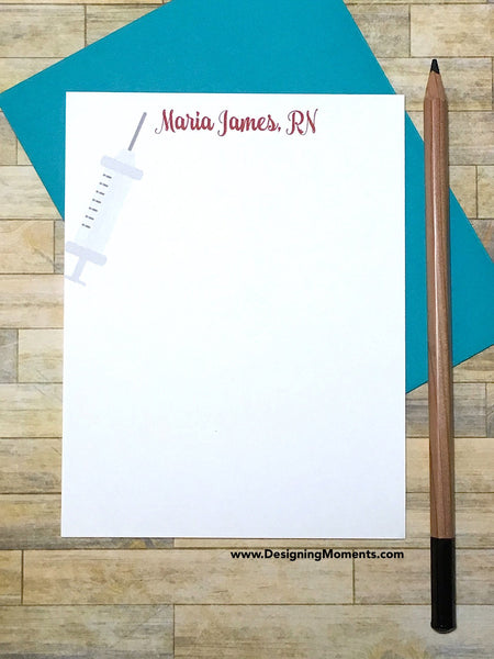 Medical Personalized Stationery