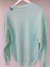 The Palm Beach Sweatshirt - Aqua