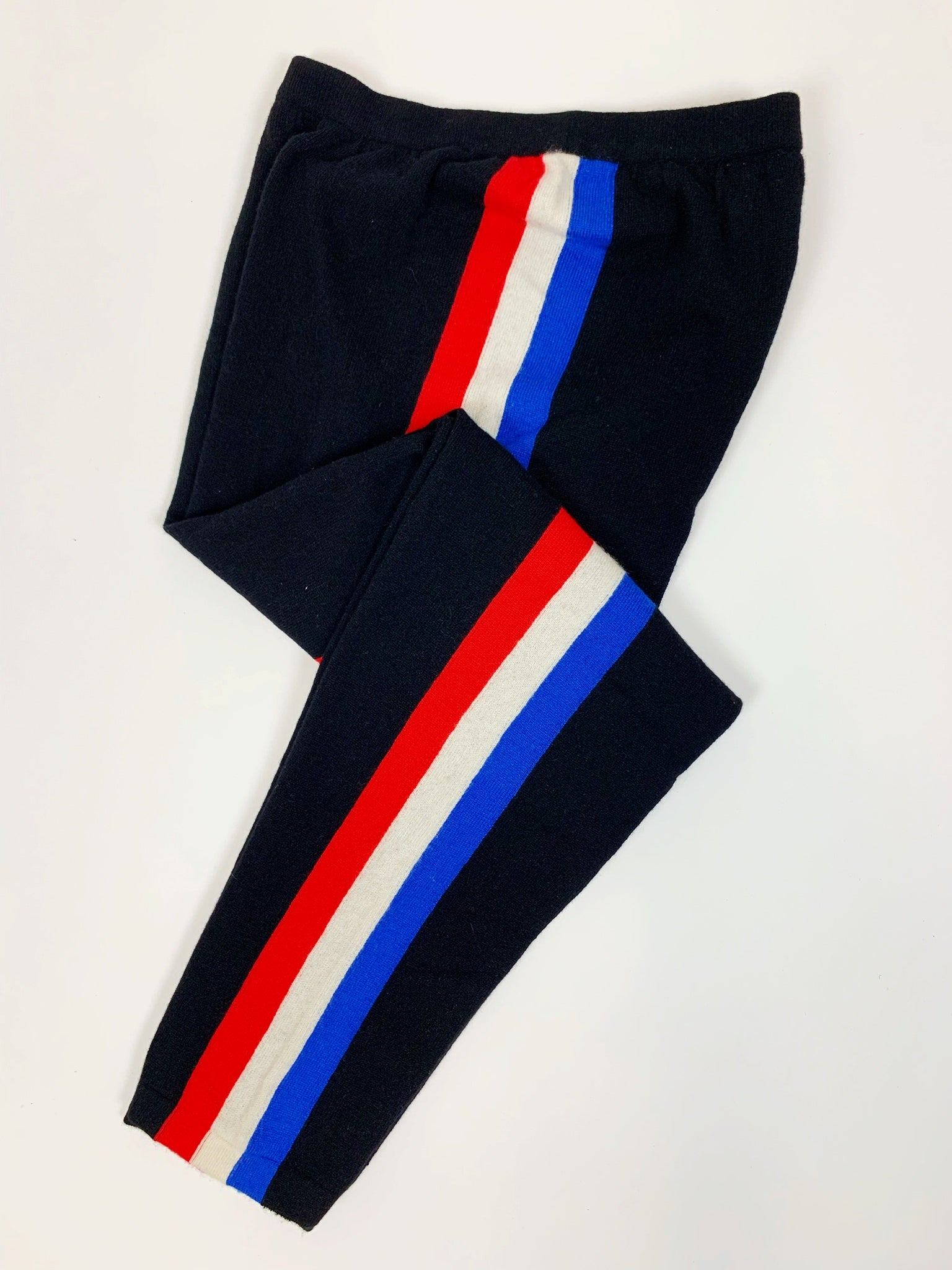 Stripe Cashmere Lounge Pants (RWB)