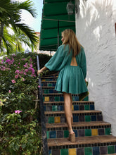 Kitta Dress-Faded Teal