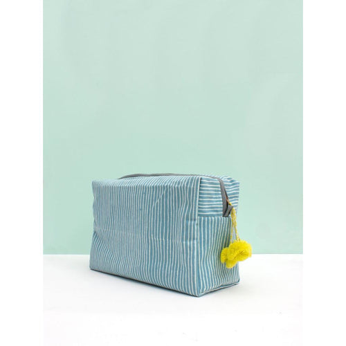 Washbag - Blue Stripe