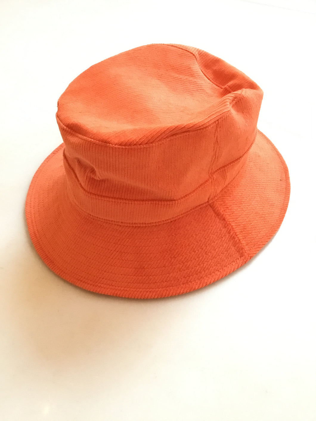 Desi Corduroy Bucket - Orange