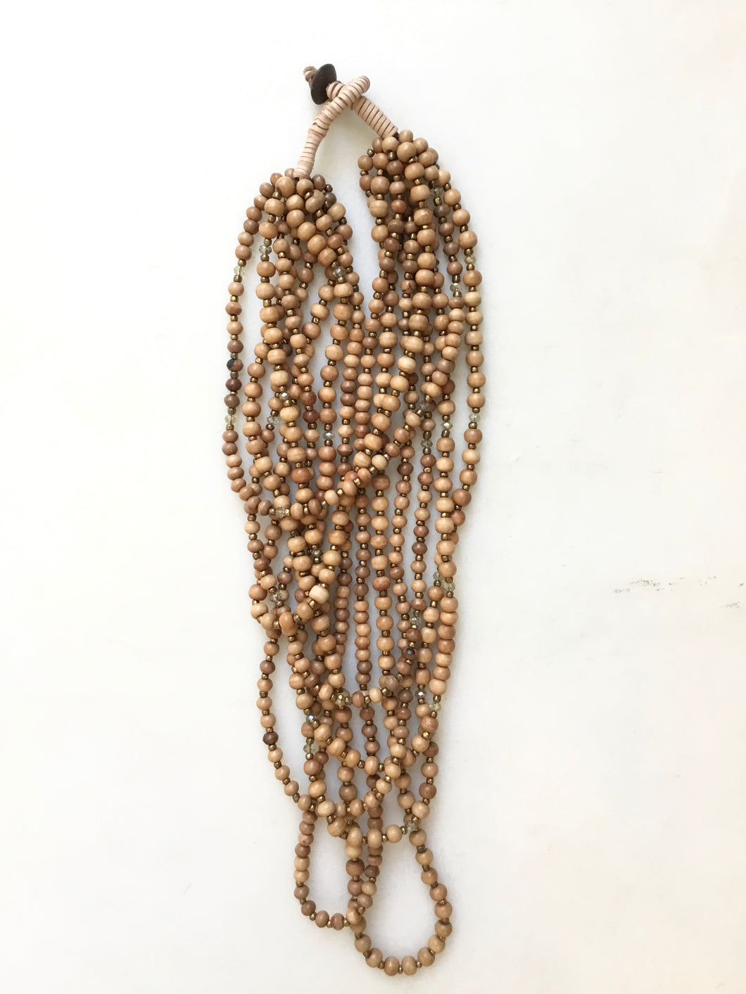 Maize Necklace - Brown
