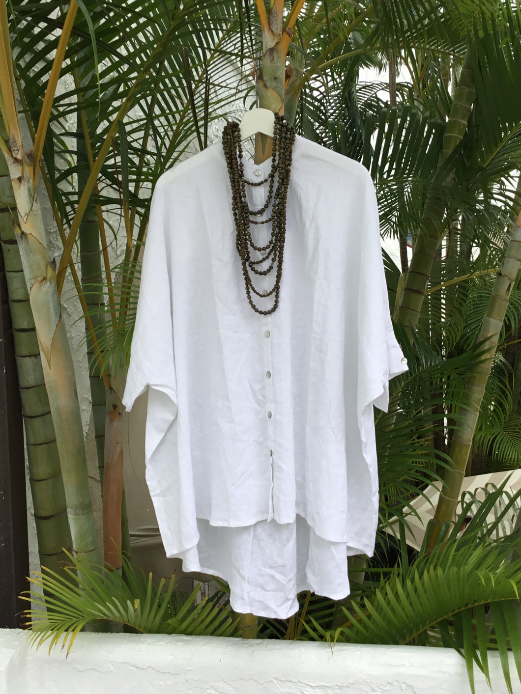 EASY BREEZY LINEN TUNIC