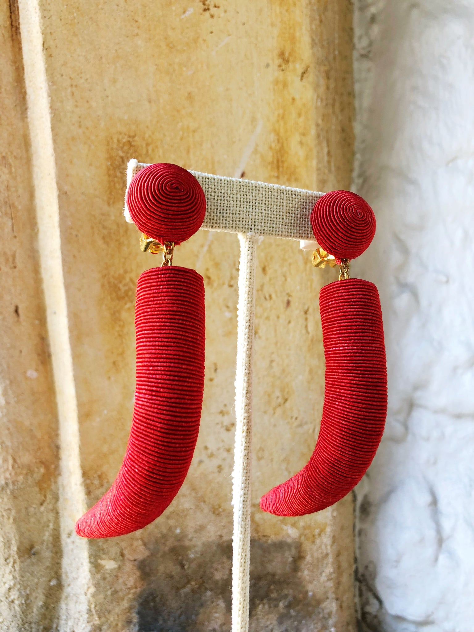 Pasha Earring - Red