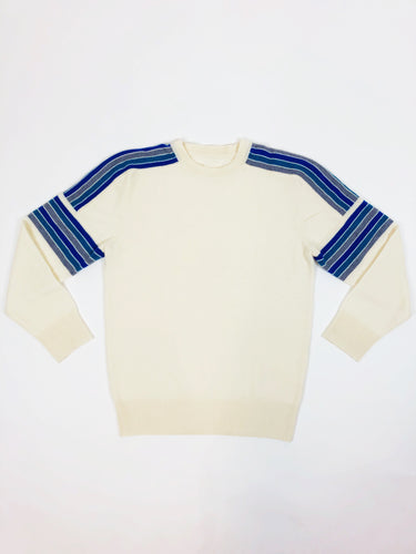BANDED STRIPE SWEATER - WHOLESALE