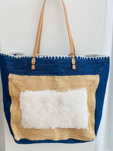 En Shalla Tote - Royal Blue