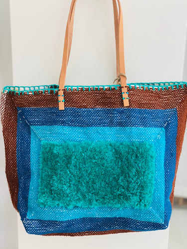 En Shalla Tote - Turquoise