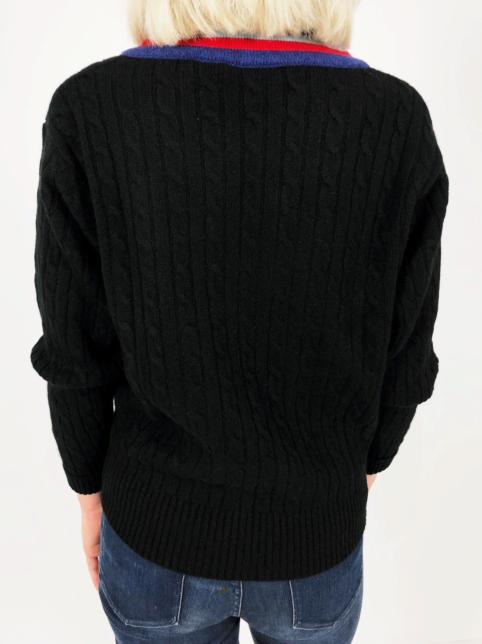 Cashmere Cricket Sweater