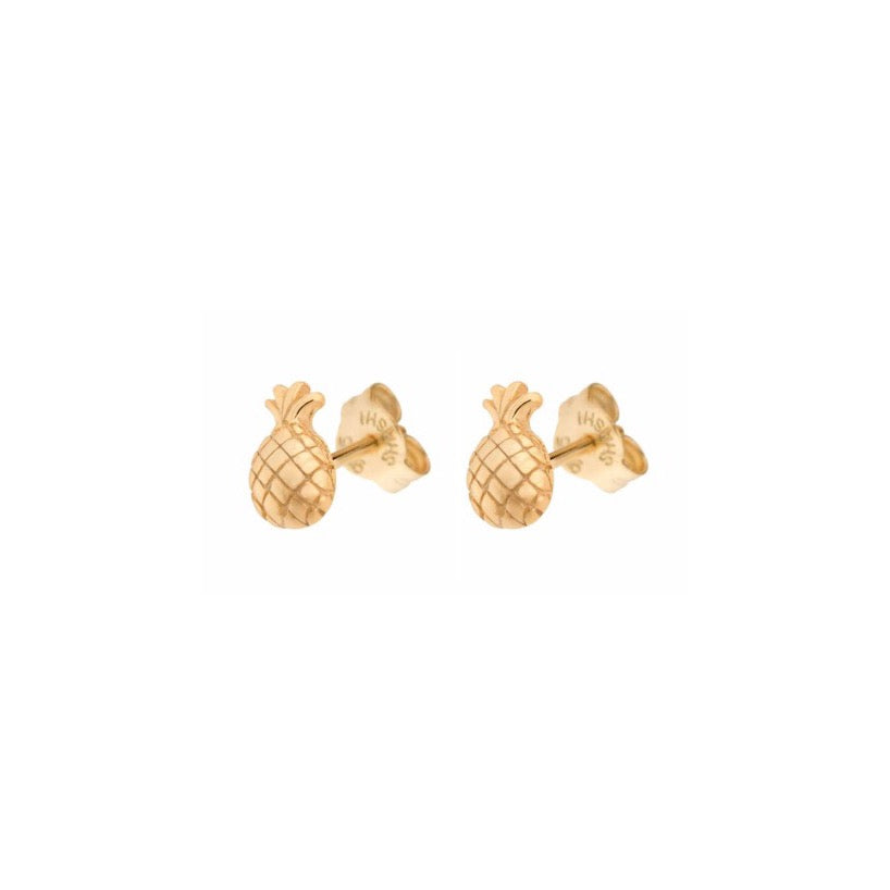 Shashi Pineapple Studs