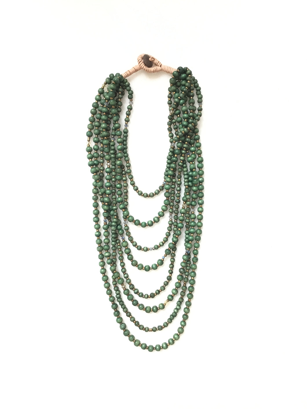 Maize Necklace - Forest