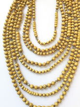 Maize Necklace - Mustard