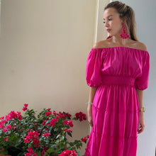Bella Dress - Fuscia