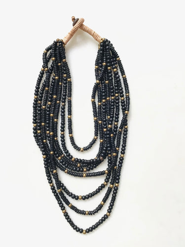 Lucila Necklace - Black