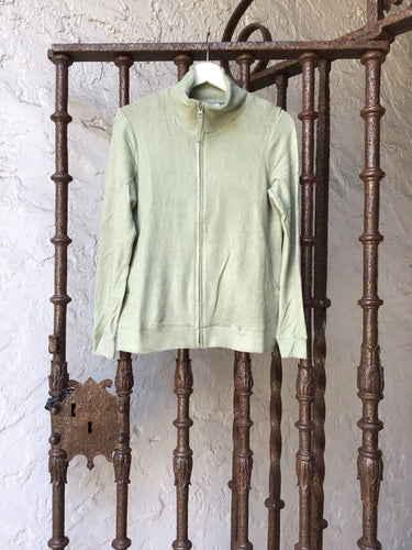 Athloro Zip Up - Sage
