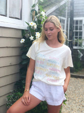 Nantucket Beaches Tee - Ivory