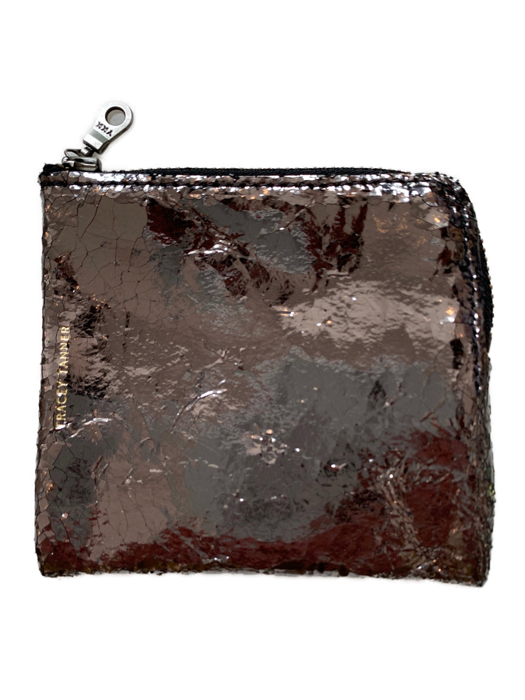 Alex Wallet - Gunmetal Foil
