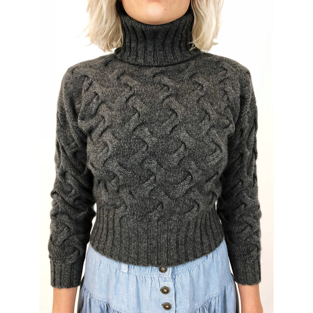 CRISSCROSS TURTLENECK - WHOLESALE