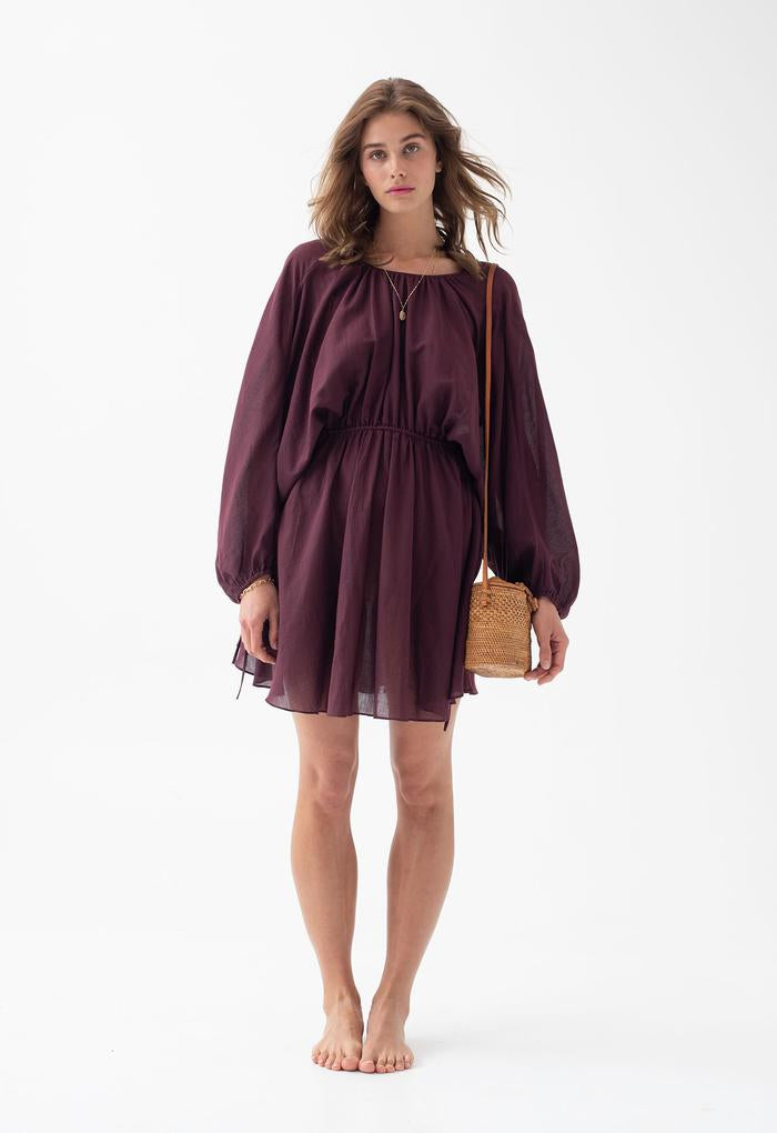 Kitta Dress - Raisin