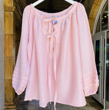 Bliss Smock Top - Dusty Pink