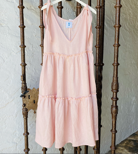 Corfu Dress - Dust Pink