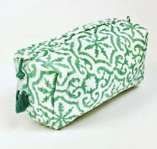 Easton Teal Cosmetic Pouch - LARGE