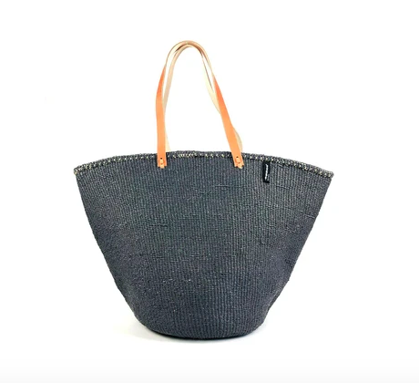 Warm Grey Shoulder Bag - Large