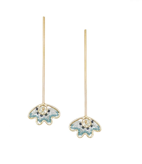 FIORE EARRINGS - BLUE