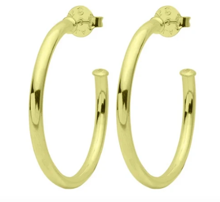 Sheila Petite Hoops - Polished