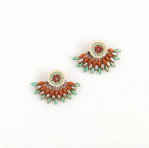 Duo Post Earring - Dusty Southwest