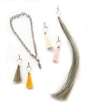 Long Horse Hair Tassel Charm