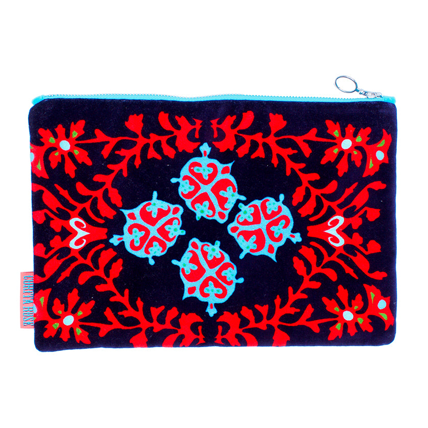 Zamora Clutch - Dark Blue